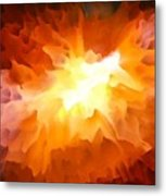 Large Abstract Art Painting Metal Print