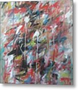 Large Abstract No 4 Metal Print