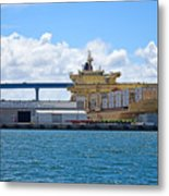 Large Banana Boat Metal Print