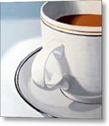 Large Coffee Cup Metal Print