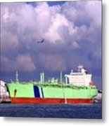 Large Oil-tanker Metal Print