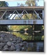 Larwood Bridge Metal Print