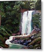 Las Marias Puerto Rico Waterfall Metal Print