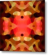 Las Tunas Abstract Pattern Metal Print