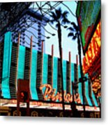 Las Vegas Lights II Metal Print