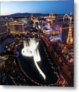 Las Vegas Lights Metal Print