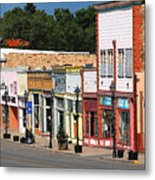Las Vegas New Mexico Metal Print