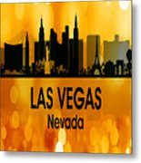 Las Vegas Nv 3 Vertical Metal Print