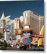 Las Vegas Strip Metal Print