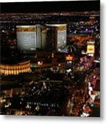 Las Vegas Strip Metal Print by Kristin Elmquist