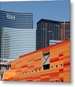 Las Vegas Under Construction Metal Print