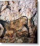 Lascaux: Running Deer Metal Print