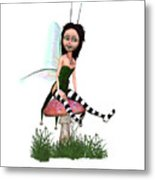 Lassnis The Forest Fairy Metal Print