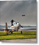 Last Flight Metal Print