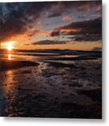 Last Light Metal Print