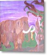 Last Mammoth Metal Print