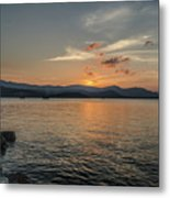 Last Moment Of The Day Metal Print