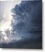 Last Nebraska Supercell Of The Summer 038 Metal Print