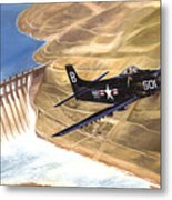 Last Of The Dambusters Metal Print by Marc Stewart