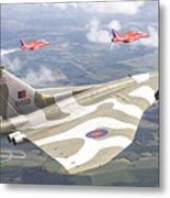 Last Royal Escort - Avro Vulcan Metal Print