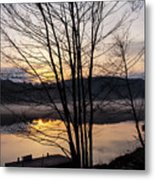 Spring Sunset - New Beginnings Coming Metal Print