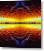 Last Sunset Metal Print