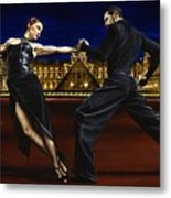 Last Tango In Paris Metal Print