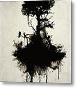 Last Tree Standing Metal Print