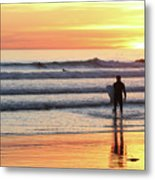 Last Wave Of The Day Metal Print