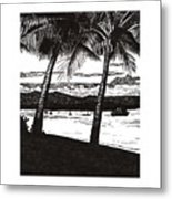 Late Afternoon At Dunk Island Metal Print