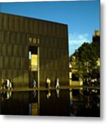 Late Afternoon At The East Wall.okcnm.2 Metal Print