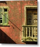 Late Afternoon Stroll Through Legnano Metal Print