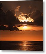 Late In The Day 1 Metal Print