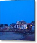 Late Summer Rockport Twilight Metal Print