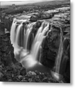 Laugafell Mountain Lodge Waterfalls 3155 Metal Print
