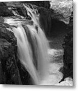 Laugafell Mountain Lodge Waterfalls Iceland 3146 Metal Print
