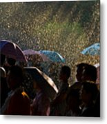 Laughter In The Rain Metal Print