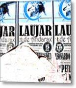 Laujar Fight Metal Print