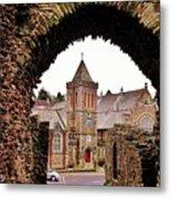 Launceston Castle South Gatehouse Metal Print