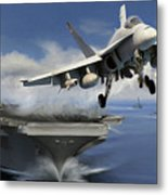 Launch Metal Print by Dale Jackson