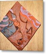 Laundrette - Tile Metal Print