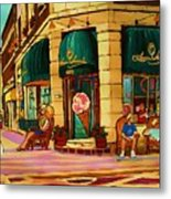 Laura Secord Candy And Cone Shop Metal Print