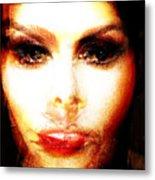 Laura The Story Teller Metal Print