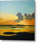 Laura's Sunset Metal Print