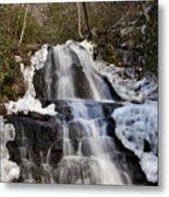 Laurel Falls In Gatlinburg Tennessee Metal Print