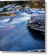Laurel Flat, Nc - Waterfall Metal Print