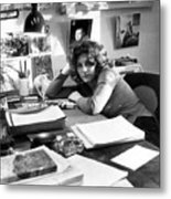 Laurie Colwin, Author Of A First Metal Print