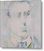 Lautreamont - Watercolor Portrait.3 Metal Print