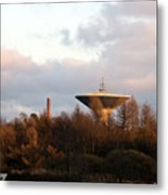 Lauttasaari Water Tower Metal Print