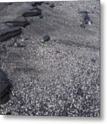 Lava And Shell Metal Print